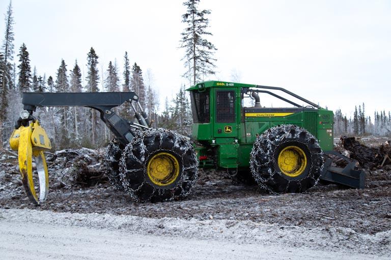 Log Equipment, Skidder